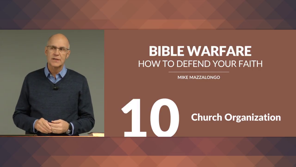 Bible Warfare: How To Defend Your Faith – Church Organization