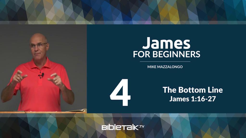James: The Bottom Line