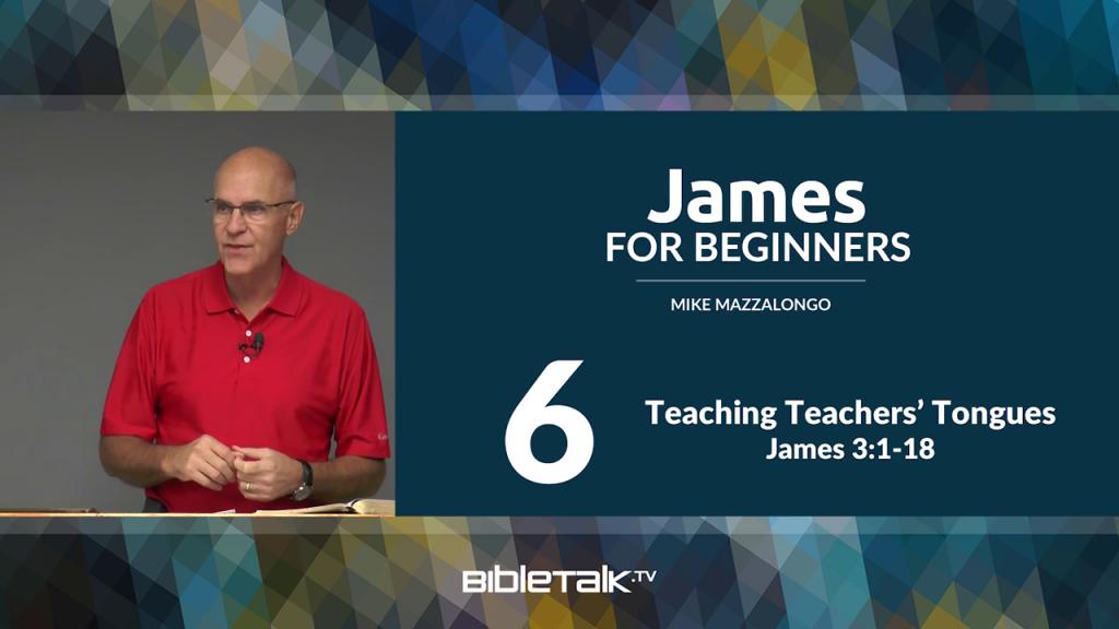 James: Teaching Teachers' Tongues