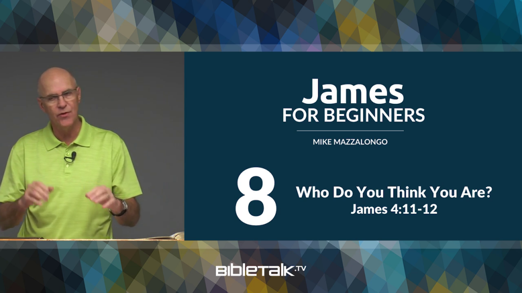 James: Who Do You Think You Are?
