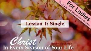 Christ in Every Season of Your Life: Single