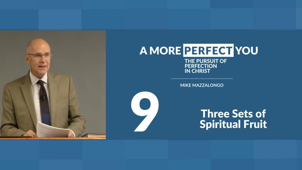 Three Sets of Spiritual Fruit