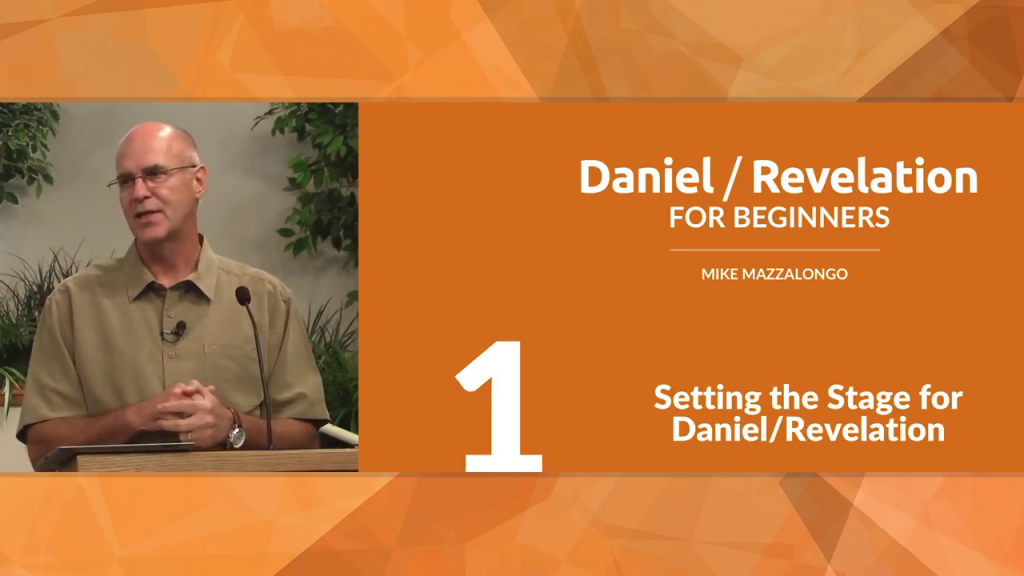 Setting the Stage for Daniel/Revelation